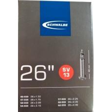 """duša SCHWALBE SV13 26 """"x1.50-2.40 (40 / 62-559) FV40mm"""