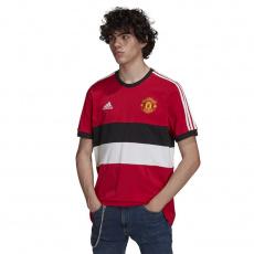 Adidas Manchester United 3- Stripes Tee M GR3895