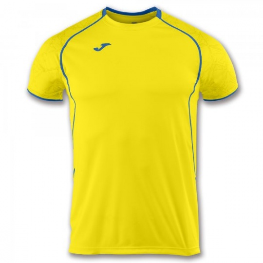 T-SHIRT OLIMPIA YELLOW-ROYAL S/S