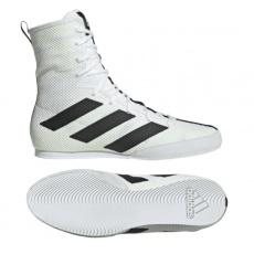 Boxerská obuv Adidas Box Hog Plus white