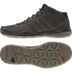 ADIDAS ANZIT DLX MID / MUSTANG BROWN / MUSTANG BROWN / GREY Hnedá