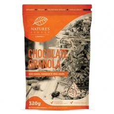 Chocolate Granola Bio 320g (Pražené čokoládové müsli)