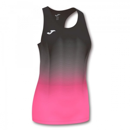 ELITE VII TANK TOP BLACK-FLUOR PINK-WHITE