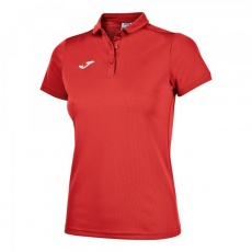 HOBBY WOMEN POLO SHIRT RED S/S