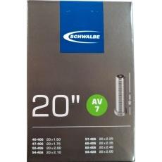 """duša SCHWALBE AV7 20 """"x1.50-2.00 (40-406 / 54-428) AV / 40mm"""