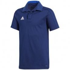 T-Shirt adidas Condivo 18 Cotton Polo Jr CF4368