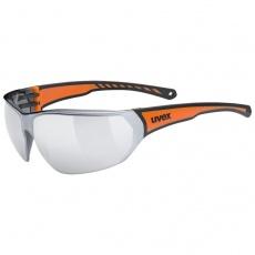 okuliare UVEX Sportstyle 204 čierno / oranžové