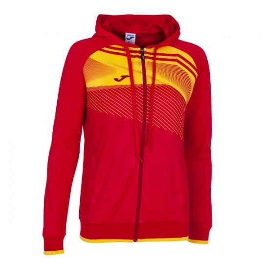 SUPERNOVA II HOODIE JACKET RED-YELLOW