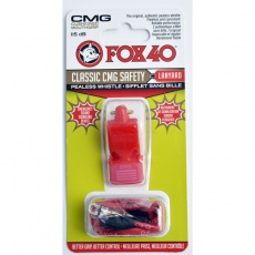 Whistle 40 CMG Classic Safety + string red