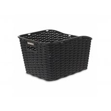 kôš BASIL Weave WP nosičový rattan syntetický čierny
