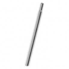 sedlovka 25.4 x 330mm Fe bez zámku stříbrná