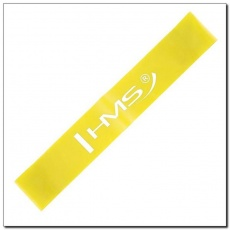 Exercise rubber HMS GU04 YELLOW 0.4 x 50 x 500 MM 17-33-010
