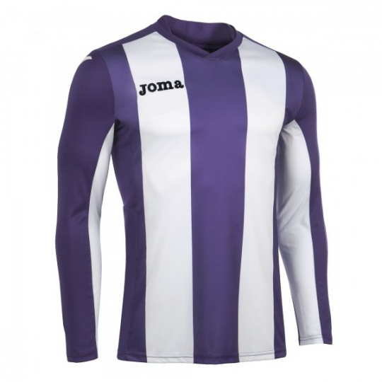 T-SHIRT PISA PURPLE-WHITE L/S
