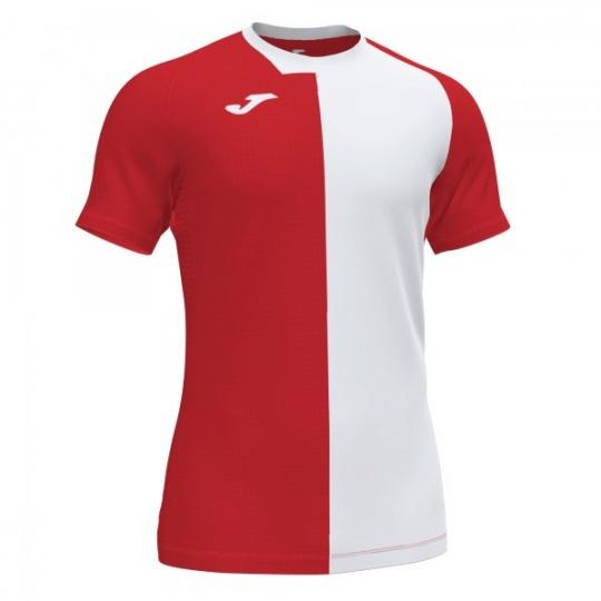 CITY T-SHIRT RED-WHITE S/S