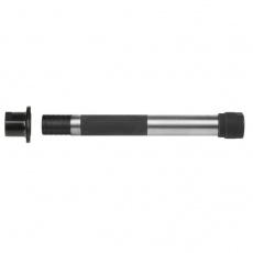os - kit náboje Novatec CrMo pre dutú os thru axle 12 mm, dĺžka 142mm