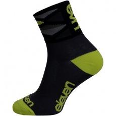 ponožky ELEVEN Howa Rhomb Green veľ. 5- 7 (M) čierne / zelené