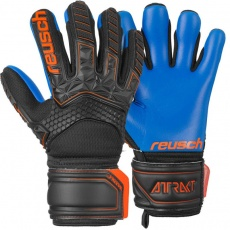 Goalkeeper gloves Reusch Attrakt Freegel S1 Finger Support Jr 5072238 7083