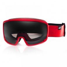 okuliare lyžiarske SPOKEY GRAYS červené