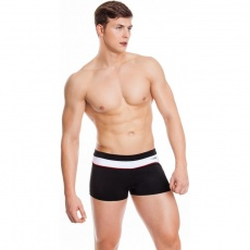 Grant M men's swimming shorts black and white 15 410