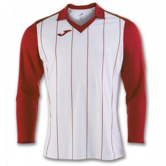 T-SHIRT GRADA WHITE-RED L/S