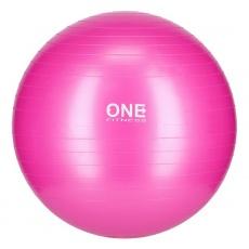 Gymnastická lopta HMS Gym Ball 10 ružový, 55 cm