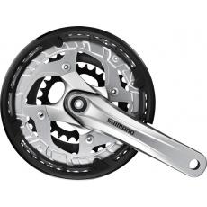 kliky Shimano Alivio FC-T4010 3x9 44/32/22z 175mm stříbrné servisní balení