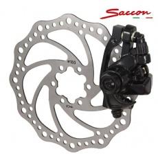 brzda kotúčová Sacconi zadná mechanická s kotúčom 160mm