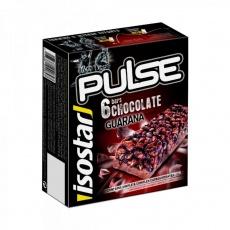 tyčinka ISOSTAR PULSE quarana čokoláda 6x23g