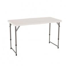 Half-folding table 122 cm height adjustable 4428