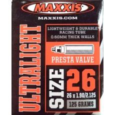 """duše MAXXIS Ultralight 26""""x1.90-2.125 (47/54-559) FV/40mm"""