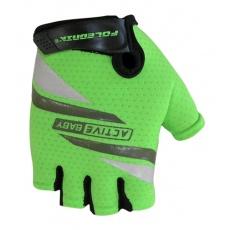 rukavice detské Poledník ACTIVE BABY zelené