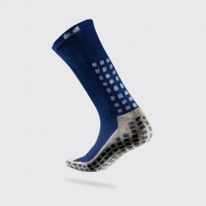 Trusox Thin football socks, navy blue