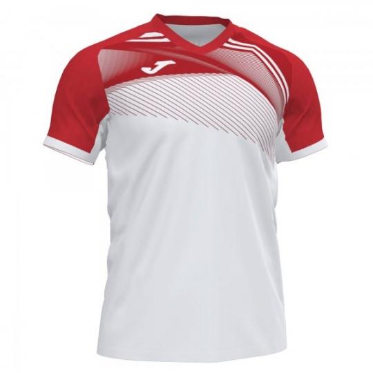SUPERNOVA II T-SHIRT WHITE-RED S/S