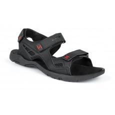boty pánské LOAP REUL sandály černo/červené
