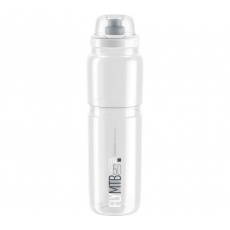 fľaša ELITE FLY MTB číra / sivé logo 950 ml