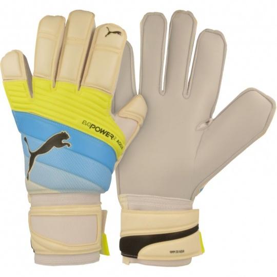 Goalkeeper gloves Puma evoPower Grip 2.3 Aqua 04122501