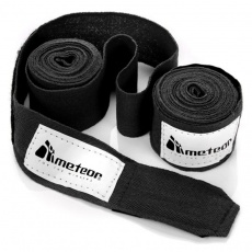 Boxing bandage Meteor 2.8 m 2 pcs. Black 24294