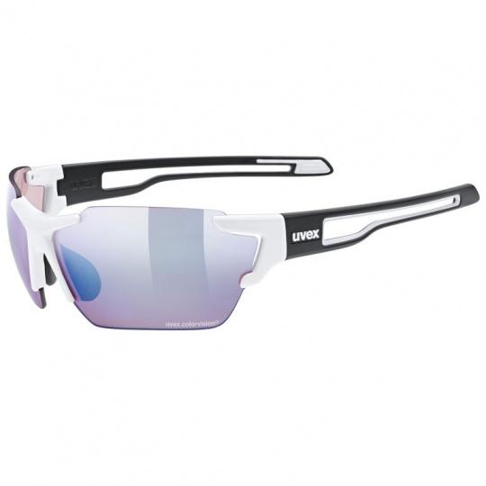 brýle UVEX Sportstyle 803 CV bílo/černé