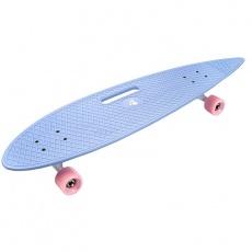 Meteor Longboard plastic skateboard 23767
