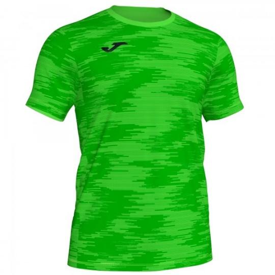 T-SHIRT GRAFITY FLUOR GREEN S/S
