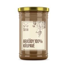 Arašidy 100% praženej mělněné chrumkavé 1000g (Arašidový krém chrumkavý)