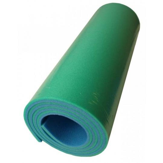 karimatka dvouvrstvá 10mm zeleno/modrá