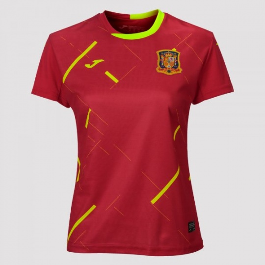 1ST T-SHIRT SPANISH FUTSAL RED S/S WOMAN