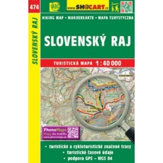 mapa cyklo-turistická Slovenský raj, 474 (4106)