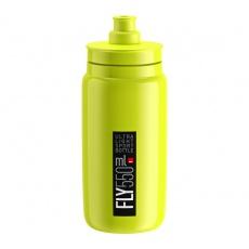 fľaša ELITE FLY 20 žltá fluo / čierne logo 550 ml