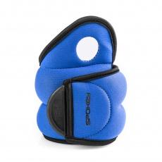 COM FORM IV Závažie na zapästie  2 x 1,5kg modré