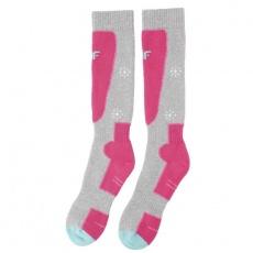 Ski socks 4F JR HJZ19-JSODN001 54S