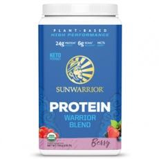 Proteín Blend BIO 750g berry (Hrachový a konopný proteín)