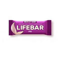 tyčinka Lifefood Lifebar Bio Raw figová exp.03/21