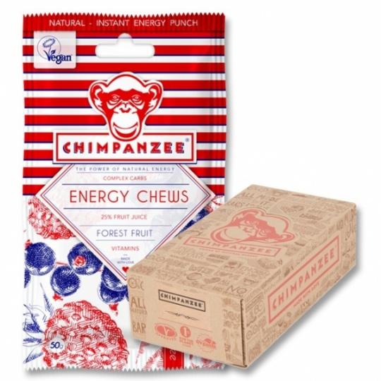 želé vitamíny Chimpanzee Energy Chews 30g lesní plody